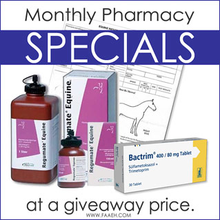 Monthly Pharmacy Specials at a Giveaway Price - Click here to signup for our monthly newsletter!