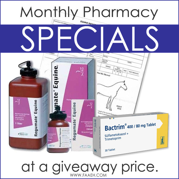 Subscribe to Our Monthly Newsletter to be Notified About Our Pharmacy Specials