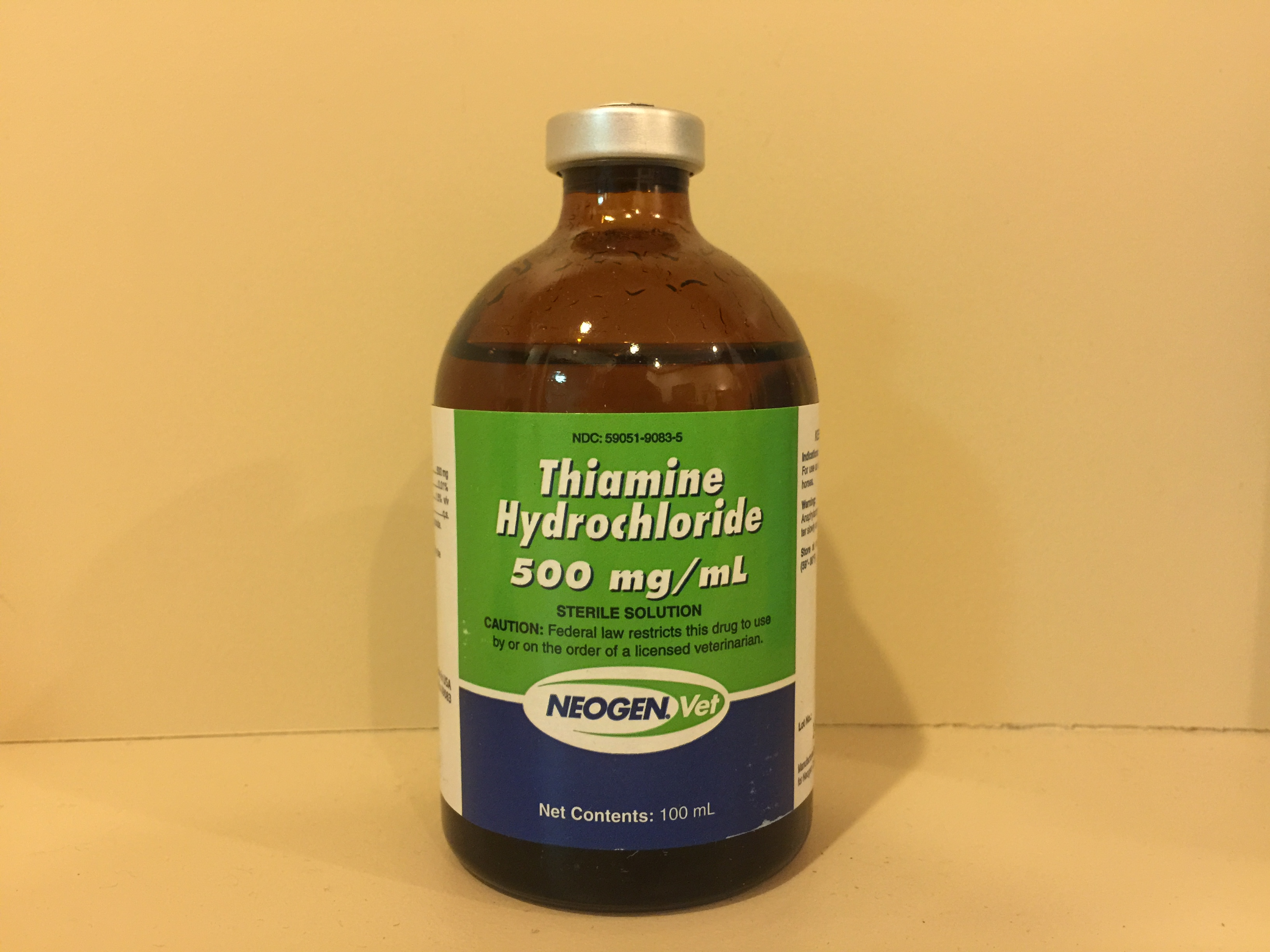 Vitamin B-1 (Thiamine) 500 mg/ml, 100 ml